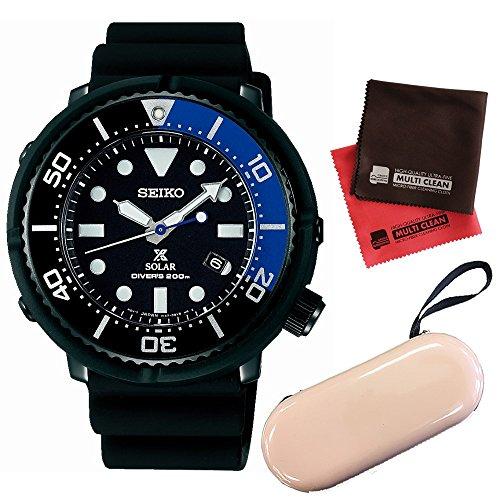 【セット】[セイコー]SEIKO 腕時計 SBDN045 [プロスペックス]PROSPEX メンズ Diver Scuba 2017 Limited Edition Produced by LOWERCASE&時計ケース1本用&クロス2枚セット