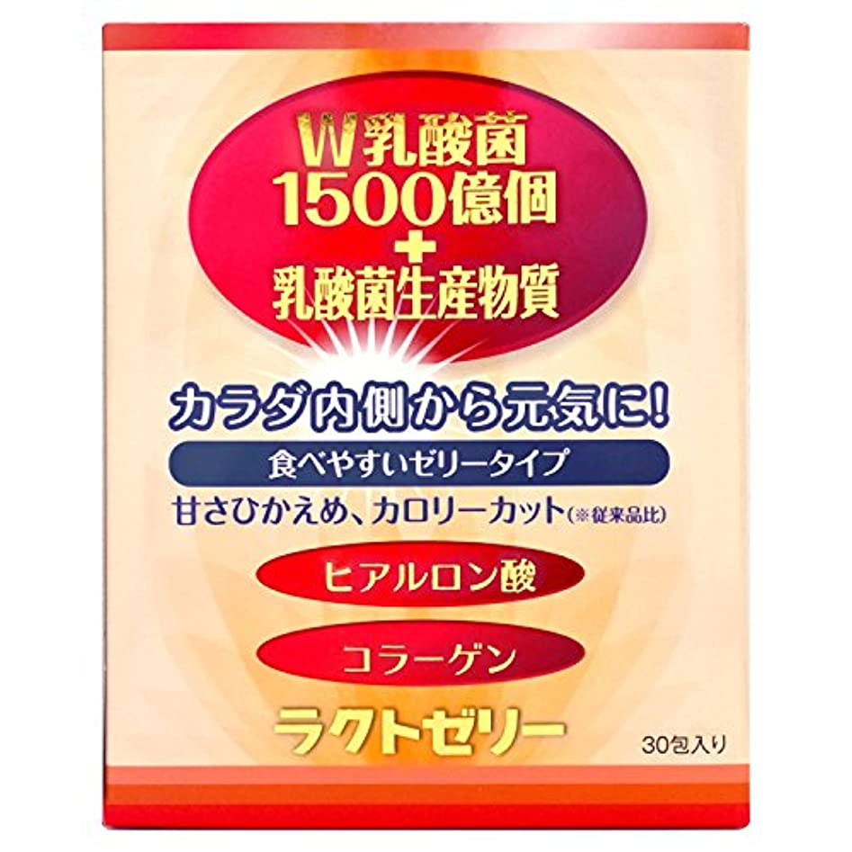 確かに基礎理論鉛筆ラクトゼリー W乳酸菌1500億個+乳酸菌生産物質 ラクトゼリー 450g (15g×30包)