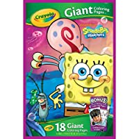 Giant Colouring Pages Spongebob Squarepants