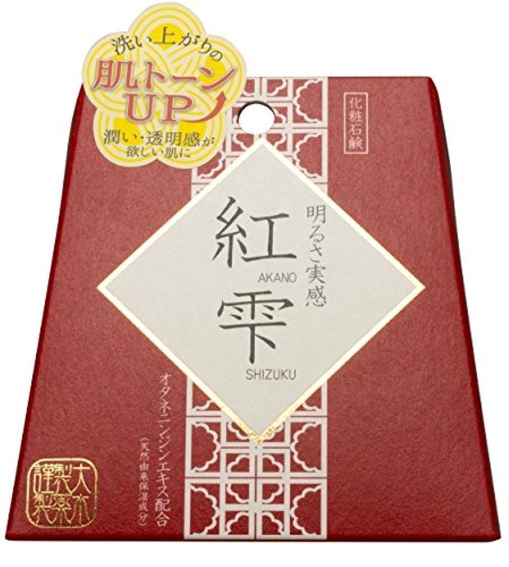 テレックススナップクランプ紅雫 紅参ソープ 90g
