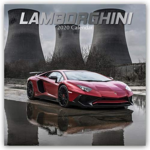 Lamborghini 2020 - 16-Monatskalender: Original The Gifted Stationery Co. Ltd [Mehrsprachig] [Kalender]