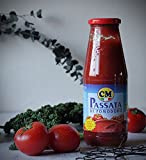 イタリアマンマの味 トマトピューレ 700g (ポモドーロパッサート) CM社 イタリア ナポリ産 (Italian Tomato Sauce Passata di Pomodoro from Napori Italy)