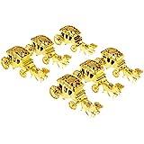 KESOTO 6個 ギフトボックス 馬 キャリッジ ベビーシャワー ギフト 3色選べ - ゴールデン