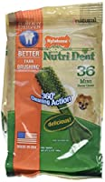 Nylabone Nutri Dent Edible Dental Chews Mini -- 39 Chewables by Nylabone
