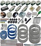 準備万端 (3回練習分) 第二種電気工事士技能試験練習用材料 「全13問分の器具・電線セット」