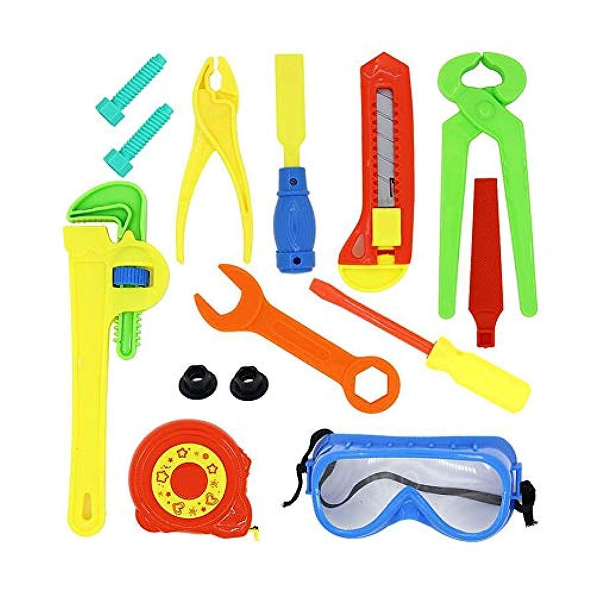 マーカー介入する操作プラスチック製の子供の知育玩具の贈り物を保持子供のおもちゃシミュレーション修理キットミニポータブルメンテナンスツールキットスターターキット