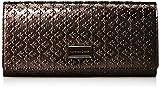 [パトリックコックス] 長財布 【ギャラクシー】 エナメル革 型押し かぶせ長財布 ファスナー小銭入付 PXLW7ET1 85 ブロンズ