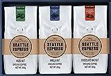Best コーヒーフレーバーを販売 - seattle espress シアトルエスプレス人気のフレーバーコーヒー3種類セット Review