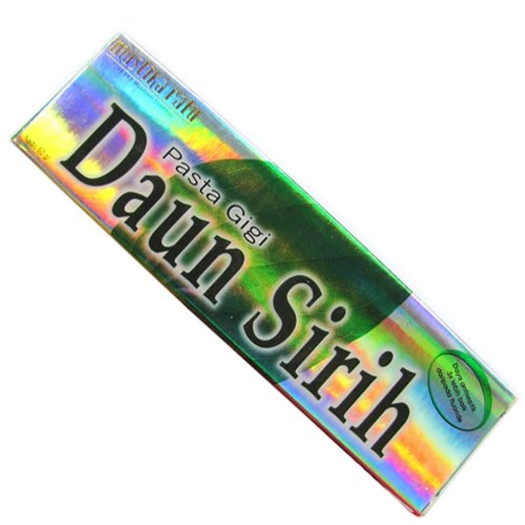 ムスティカラトゥ?Daun sirih(ダウンシリ)歯磨き粉60g[並行輸入品][海外直送品]