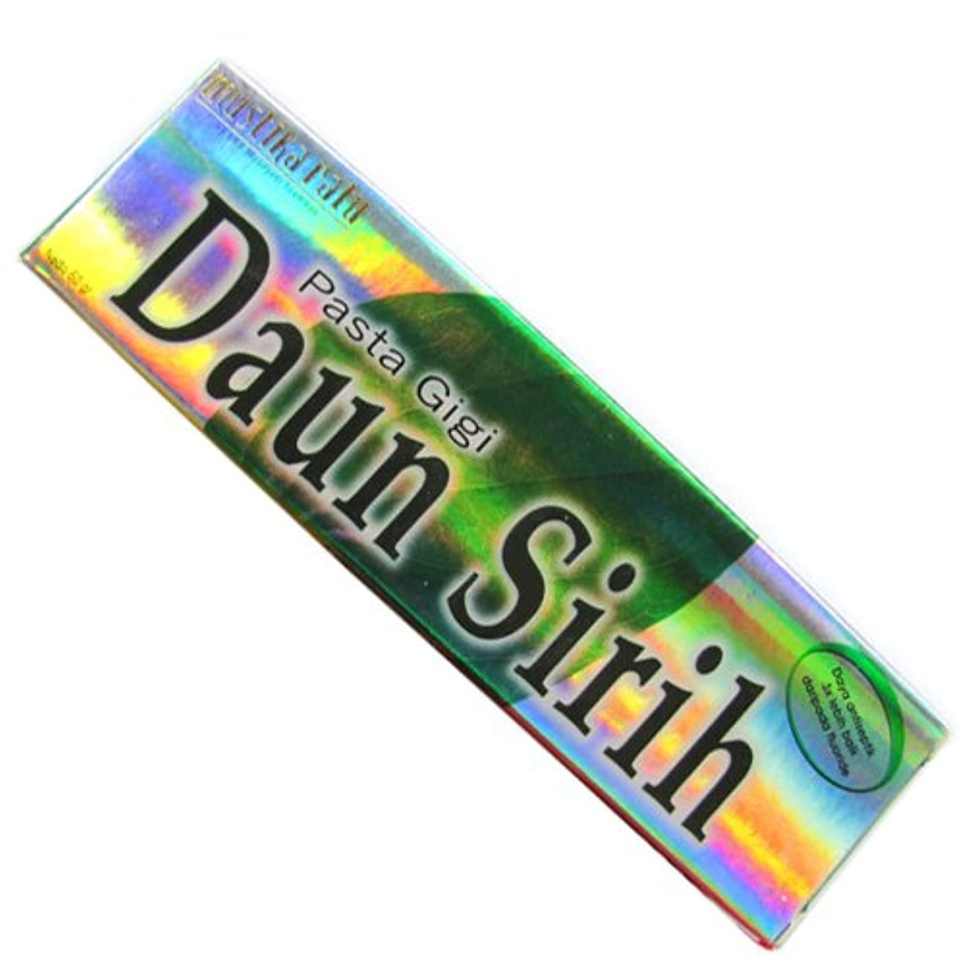 溶けるカビ完全にムスティカラトゥ?Daun sirih(ダウンシリ)歯磨き粉60g[並行輸入品][海外直送品]