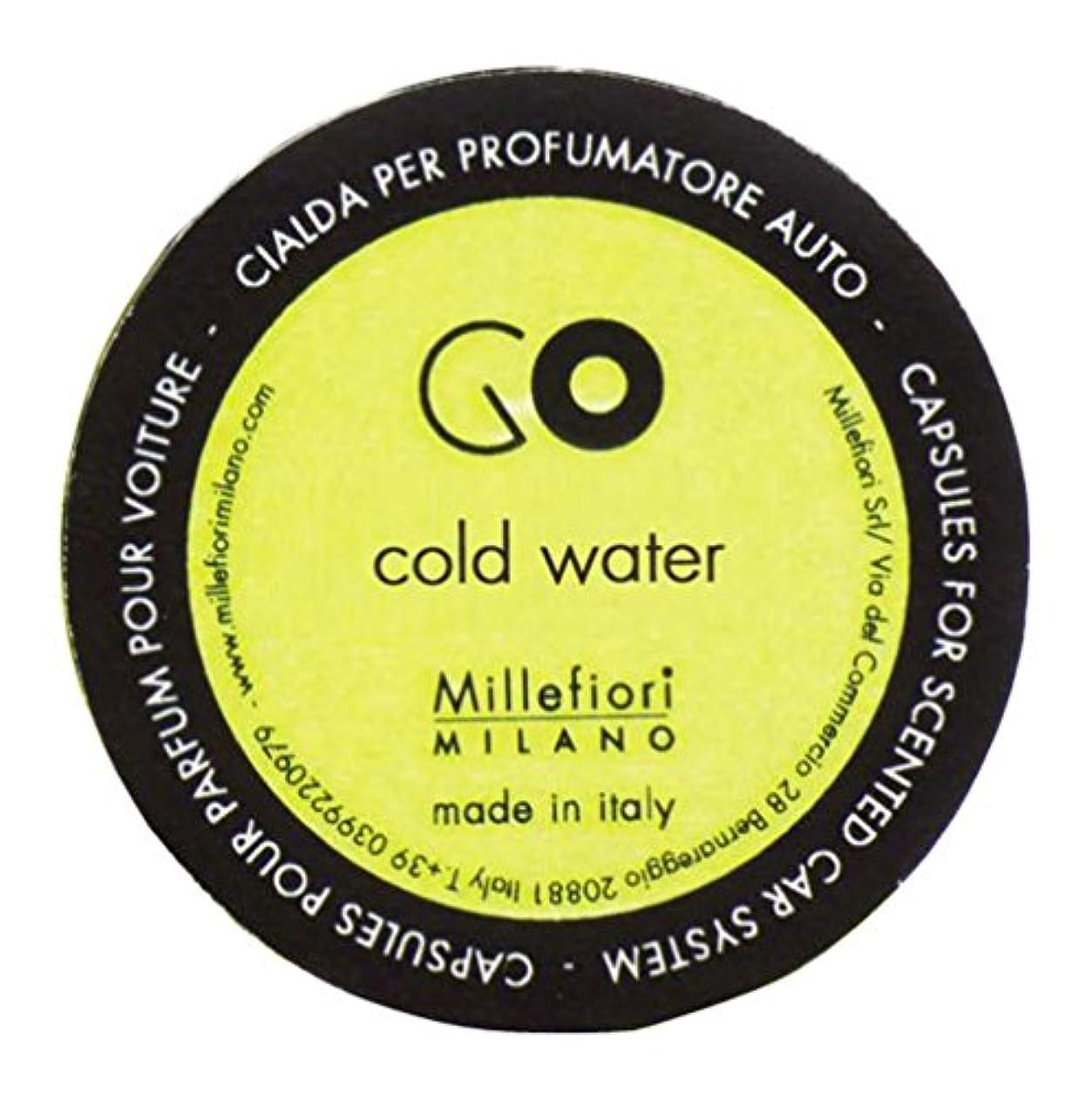 伝染病最も遠い再生的Millefiori カーエアフレッシュナー GO レフィル コールドウォーター 1pcs RGCW