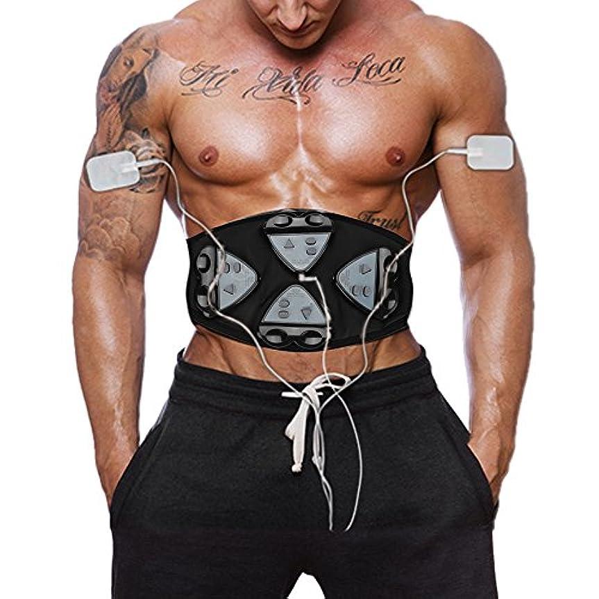 腹筋ベルトEMS腹筋刺激筋力トレーニング筋力トレーニング腹部トレーニング4コントローラベルト