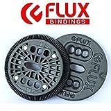 【FLUX BINDING 】バートンEST板用 2ホール ディスク プレート BURTON ESTのボードに取り付けるパーツ 2HOLE DISCS バインディングパーツ/2個セット