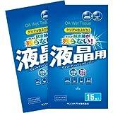 ウェットティッシュクリーナー 液晶用 30枚(15枚×2パック) CD-WT4P30 日用品 掃除用品 掃除道具 [並行輸入品]