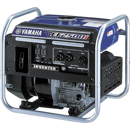 ヤマハ オープン型 インバータ発電機 EF2500i 2.5kVA [50Hz/60Hz] 25Aコンセント付