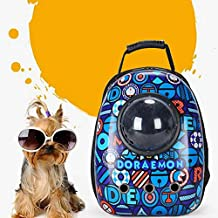 Breathable Capsule Pet Backpack Carrier Travel Bags for Cat Dog Puppy Small Animals
