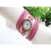 Fashion Women Vintage Bronze Bracelet Quartz Wrist Watches Retro Exquisite Rivet,Student Jewelry Bracelet Wristwatch