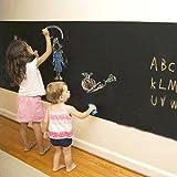 壁 に 貼って はがせる 黒板(ブラックボード)ウォール ステッカー 2M×45cm 4色 5本入 チョーク付き【little Monster】