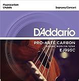 D'Addario ダダリオ ウクレレ弦 Pro-Arté Carbon Concert/Soprano EJ99SC 【国内正規品】