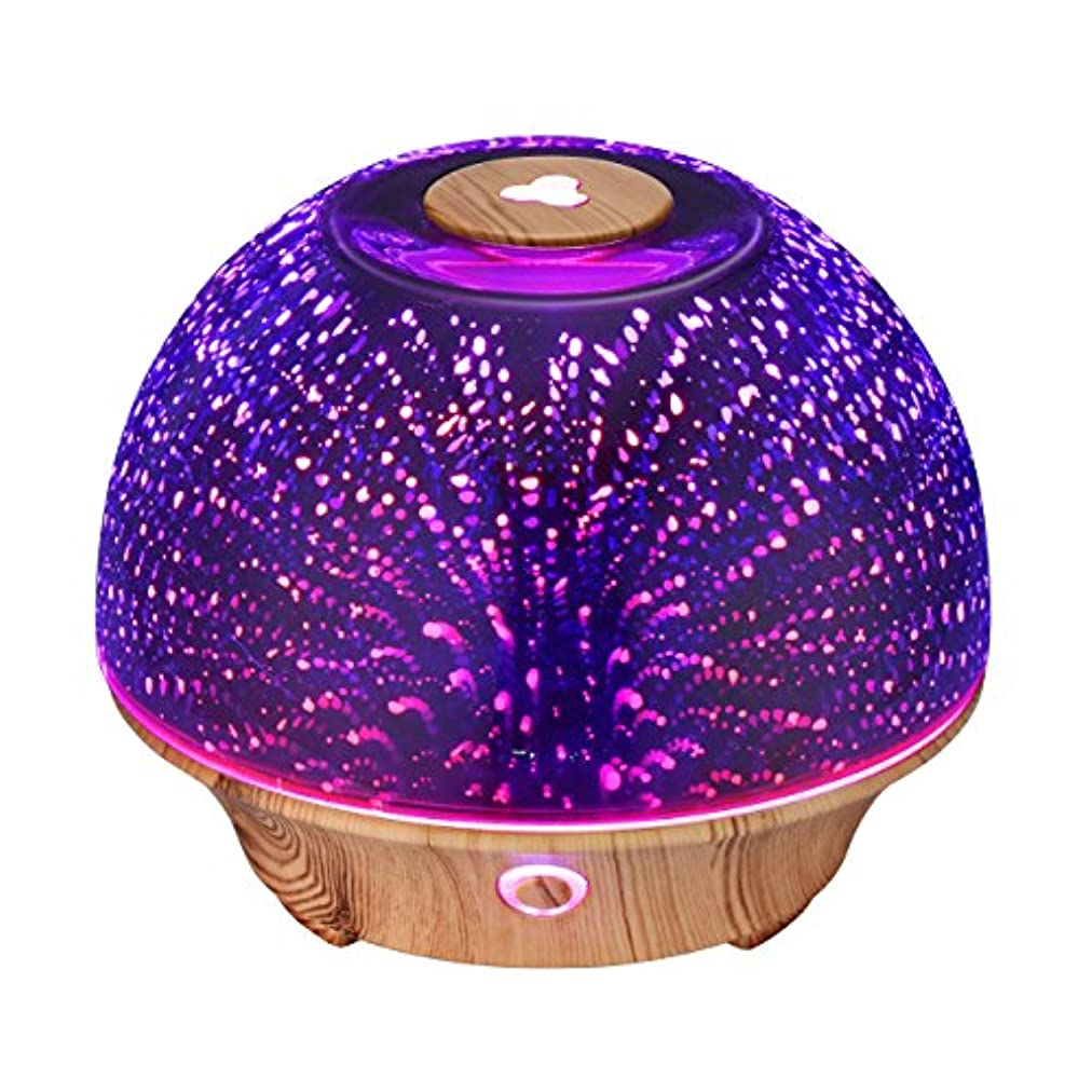 高めるトレード似ているVicTsing Essential Oil Diffuser, 200ml 3D Effect Ultrasonic Aromatherapy Oil Humidifier with Starburst Fireworks...