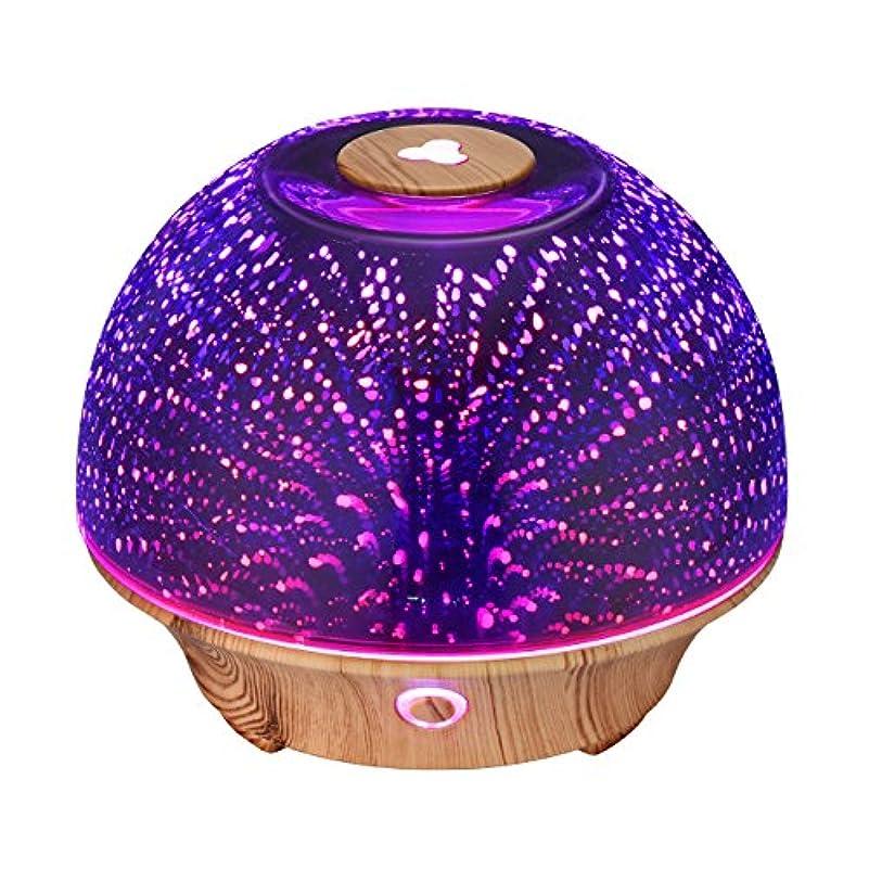 力学食料品店推測するVicTsing Essential Oil Diffuser, 200ml 3D Effect Ultrasonic Aromatherapy Oil Humidifier with Starburst Fireworks...