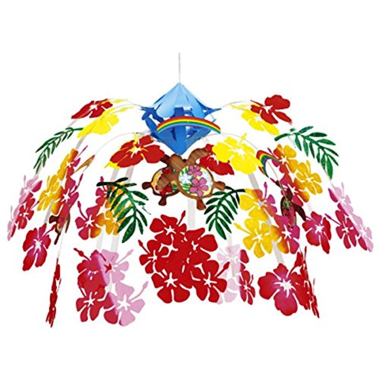 夏装飾 ハワイアントロピカルセンター W60cm /ディスプレイ?装飾?飾り付け  22283