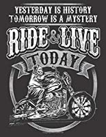 """2020 Motorcycle Calendar and Planner For Bikers: Motorcycle Ride Live Today Biker Men History Mystery 