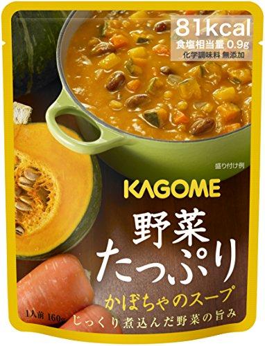カゴメ 野菜たっぷり かぼちゃのスープ 160g×5個