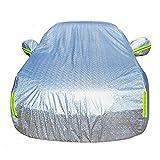 CHELIYA カーカバー ボディーカバー 車 4層構造 裏起毛タイプ 防水防塵防輻射紫外線 車カバー 汎用 (二厢車XL:460 cm* 180cm*155 cm)