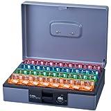 カール事務器 キーボックスデスクトップ 32個収納 CKB-F32-S