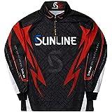 サンライン(SUNLINE) ステータス・PRODRYジップアップシャツ ブラック S-LL STW-5555CW トーナメントシャツ