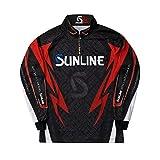 サンライン(SUNLINE) STW-5555CW PRODRY フルジップアップシャツ(長袖)  ブラック 4L