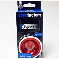 YoYoFactory SuperStar Yo-Yo -New Design- Red by YoYoFactory [並行輸入品]