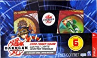 Bakugan - Battle Brawlers - Card Power House - includes 6 Special Collectible Cards - Pyrus by Bakugan