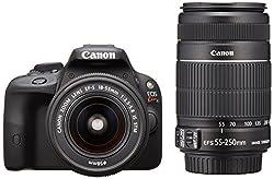Canon デジタル一眼レフカメラ EOS Kiss X7 ダブルズームキット EF-S18-55mm EF-S55-250mm付属 KISSX7-WKIT