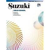 Suzuki Violin School, Vol 2: Violin Part (Book & CD)
