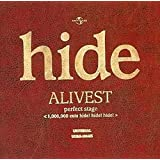 ALIVEST perfect stage< 1,000, 000 cuts hide!hide!hide!>(;期間限定盤)[2DVD]