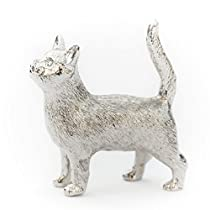 ネコ(猫)(立ち姿) イギリス製 アニマル アート フィギュア コレクション