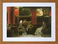 Painting Alma-tadema Venantius Fortunatus Framed Wall Art Print