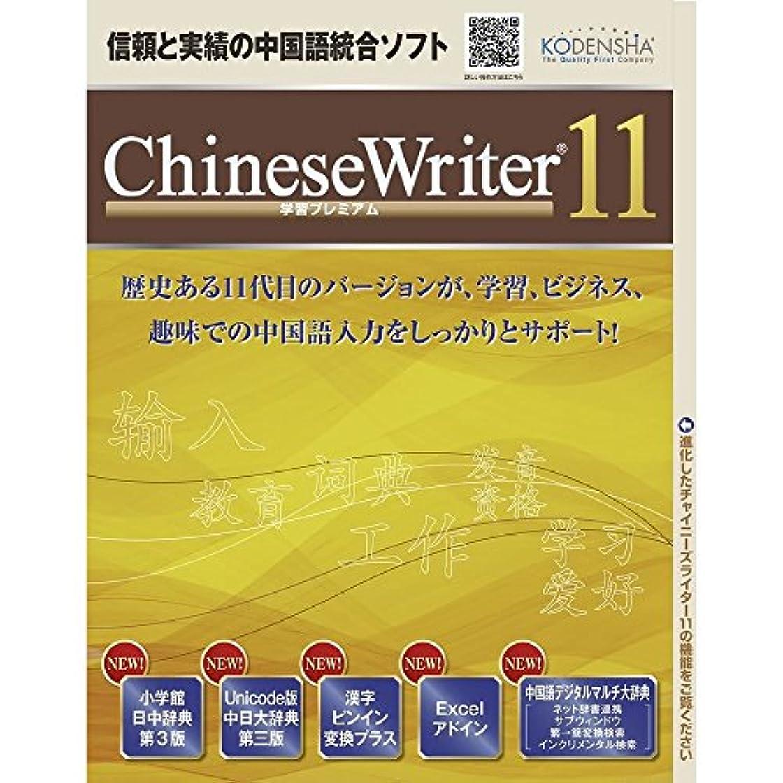 経過怒っているスタウトChineseWriter 11 学習プレミアム|ダウンロード版