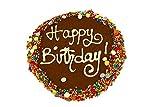 犬用おやつ オーストラリア産手作り健康クッキーケーキ お誕生日おめでとう! (キャロブ味)