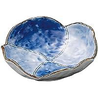 山下工芸(Yamasita craft) 花型濃淡刺身鉢 15.2×16.2×5cm 11025130