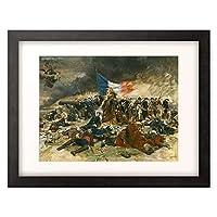 Meissonier, Ernest,1815-1891 「Le Siege de Paris. 1870.」 額装アート作品