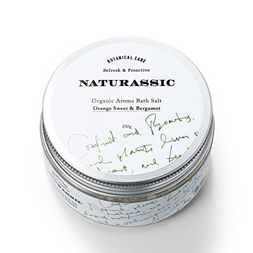 ナチュラシック [ACO認定] オーガニックアロマバスソルトOB オレンジスイート&ベルガモットの香り 250g [オーガニック原料100%]