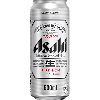 アサヒ スーパードライ 500ml缶×24本