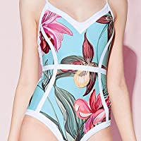 Cinhent Swimwear, Women Bikini One Piece Push-Up Padded Bathing Backless Beachwear