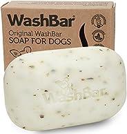 WashBar Natural Dog Soap Bar, Natural Dog Shampoo for Allergies and Itching, Zero Plastic Waste, Grooming Made