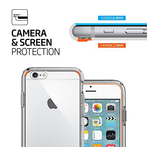 『【Spigen】iPhone6S ケース / iPhone6 ケース ウルトラ・ハイブリッド 米軍MIL規格取得 (スペース・クリスタル SGP11599)』の5枚目の画像