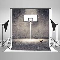 ケイト・バスケットボール写真の背景幕レトロスポーツ背景写真ブース小道具