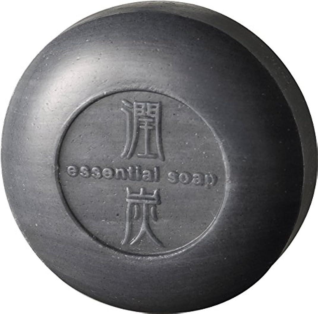 簡潔な発送包括的アクアライフ 潤炭シャンプー石鹸 [100g]
